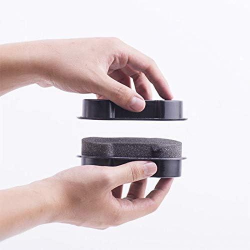 1pc doppelseitige Schwarze Schuhputz-Schuhb/ürste saubere Leder Schuhcreme Schwamm Peeling Haushaltsreinigungswerkzeug Schuhb/ürste