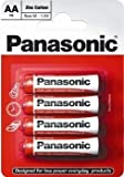 Panasonic- Aa Pack Of 4 Zinc Carbon Batteries