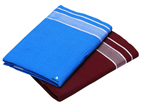 Green Tee Color Dhoti   Pack of 2