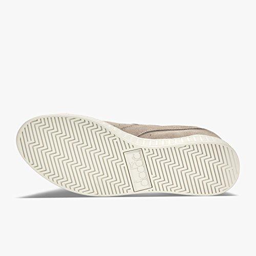 S Diadora Basso Sneaker a Adulto ARGENTO Collo Low GRIGIO Unisex Game aYxqrYT