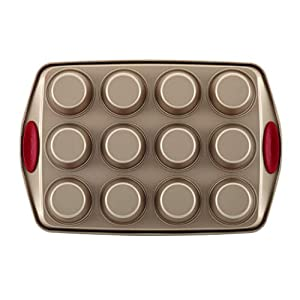 Rachael Ray 52410 Cucina Nonstick Bakeware Set with Baking Pans, Baking Sheets, Cookie Sheets, Cake Pan, Muffin Pan and…