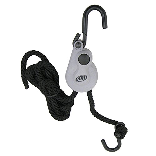 PROGRIP 404400 XRT Rope Lock Tie Down w/Push Button Release for Cargo Transport and Control: 8' x 3/8