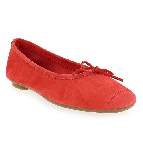 Reqins Ballerines Harmony Corail Peau Harmony Ballerines Reqins aaHBrqw