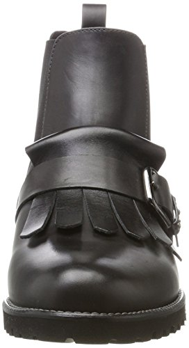 Gris Boots carbon Nappa Kaiser Femme Schwarz Chelsea Peter Brilia 820 xwvfqnn7