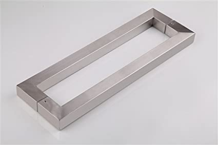 """Pull Handles 18/"""" Entry Door Entrance BRUSHED STAINLESS STEEL"""