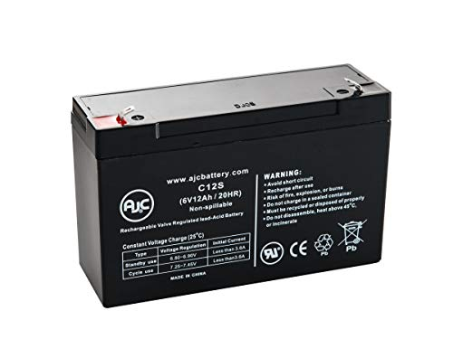 - CooPower CP6-10 Sealed Lead Acid - AGM - VRLA Battery - This is an AJC Brand Replacement