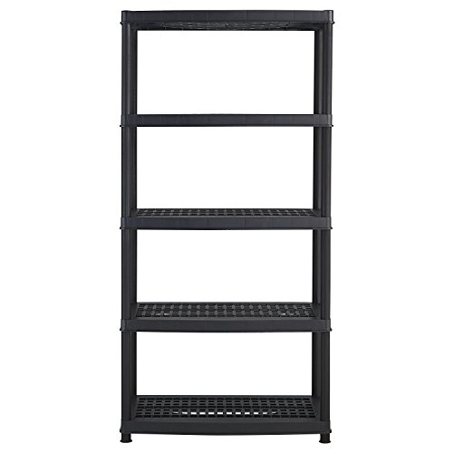 Keter-Utility-Plastic-Freestanding-Ventilated-Shelving-Unit