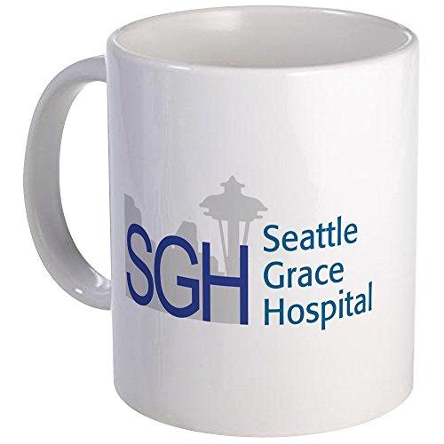 CafePress - Blue SGH Logo - Unique Coffee Mug, Coffee Cup