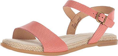 B.O.C Womens Welch Leather Open Toe Casual Slingback Sandals, Pink, Size 7.0 ()