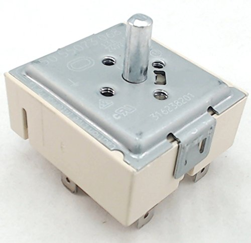 Surface Unit Switch for Frigidaire, Electrolux, AP5325508, PS3504401, 316238201