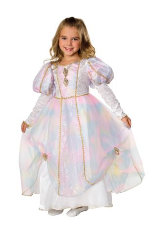 Rainbow Princess Costume, Toddler (Rainbow Costume Toddler)