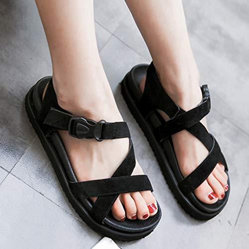 Sandals Veyikdg Donna Veyikdg Nero Ballerine Sandals WFOgy7nB