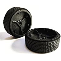 Oyster-Clean A pair of Wheels and Tires for Braava 5200 320 380 380t Mint Tread
