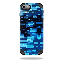 MightySkins Protective Vinyl Skin Decal for Mophie Juice Pack Plus iPhone 6 cover wrap sticker skins Space Blocks