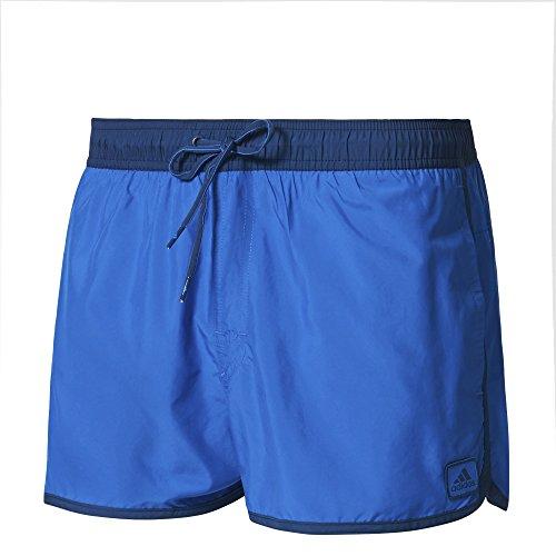 adidas Split SH Maillot de bain, Unisex, Bleu (Bleu / Azumis), XL