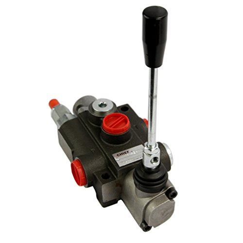 Chief P120 G Series Directional Control Valve: 1 Spool 4 Way 3 Position Spring Center, 30 GPM, 3625 PSI, SAE #12 Inlet and SAE #16 Outlet, SAE #12 Work Ports, 1500-3625 PSI Relief Setting, 220929 -