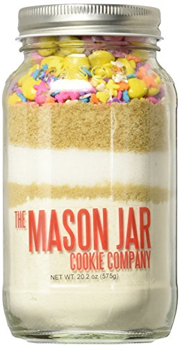 The Mason Jar Cookie Company Cookie Mix, Bunnies/Chicks/Ducks, 20.2 Ounce