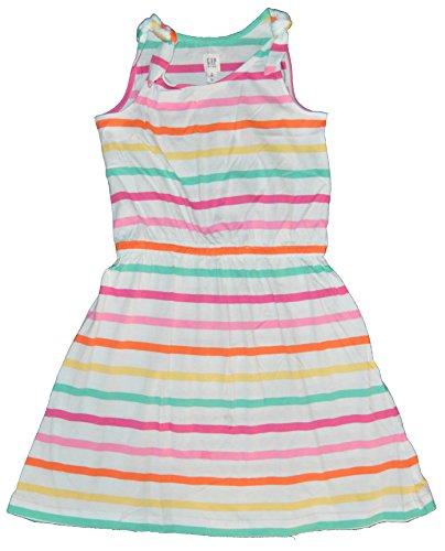 GAP Kids Girls Rainbow Stripe Bow Tank Knit Dress XXL 14 (Gap Bow)
