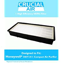 Honeywell HHT-011 Air Purifier HEPA Filter with Odor Control Carbon; Fits Honeywell Models HHT-011, HHT-080, HHT-081, HHT-090, HHT-100, HHT-145, HHT-149, HHT-085; Replaces Part # 16200, 16216, HRC1, HRF-C1, HRFC1, HAPF30, HAPF30D, 30LB1620XB2; Designed & Engineered by Crucial Air