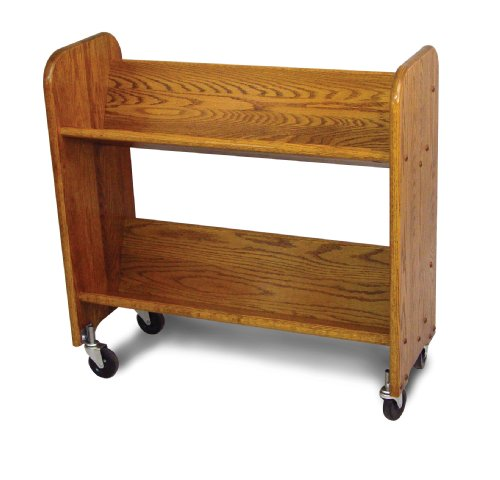 Catskill Craftsmen Rol-Rack with Tilted Shelves, Walnut Stai