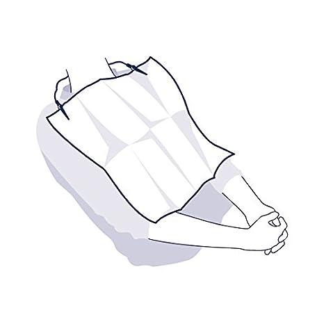 Tork 125185 Servilletas dentales universales/Baberos desechables para pacientes, 4 x 1250 servilletas 1 capa