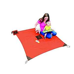 Monkey Mat ~ A clean surface you can take everywhere! (Orange Sunrise)