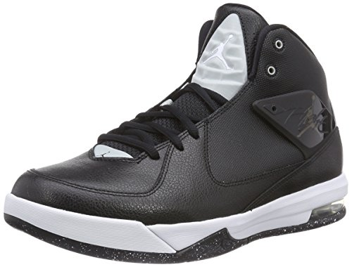 Nike Jordan Air Incline, Scarpe da Basket da Uomo Nero (Black/White-grey Mist 010)