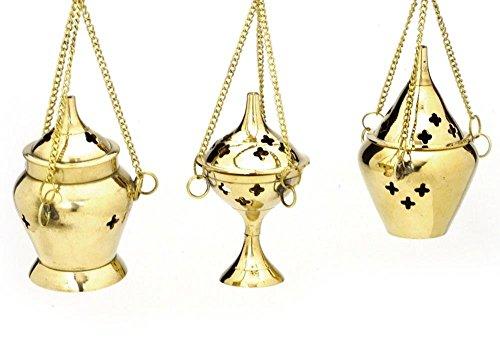 brass aroma burner - 2