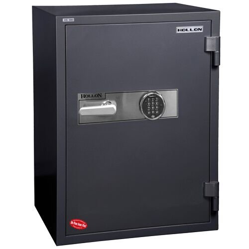 Hollon Safe HS-880E (2.43 Cubic Feet) - Fireproof Office Safe by ENNO (Image #3)