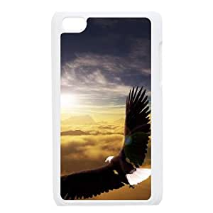 Bald Eagle Customized Cover Case for Ipod Touch 4,custom phone case ygtg578568