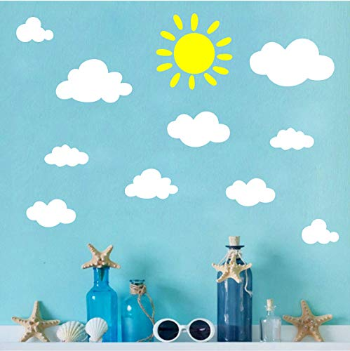 Clouds Decals Stickers Removable Nursery product image