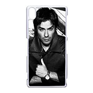Ian Somerhalder-004 For Sony Xperia Z3 Cell Phone Case White Protective Cover xin2jy-4324544