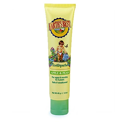 Earth's Best Toothpaste Apple & Pear, 1.6 Ounce ()