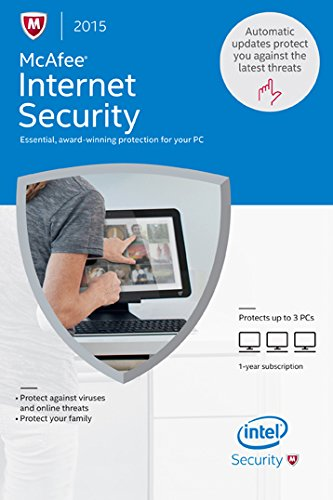 McAfee 2015 Internet Security Online