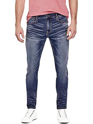 GUESS Factory Men's Sammy Super Stretch Modern Skinny Jeans ()
