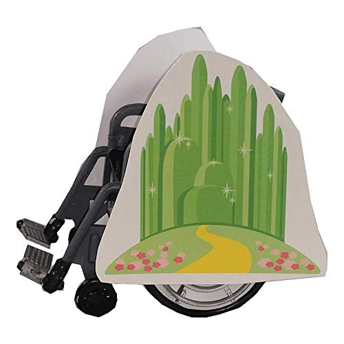 Emerald City and Yellow Brick Road Wheelchair Costume Child's]()