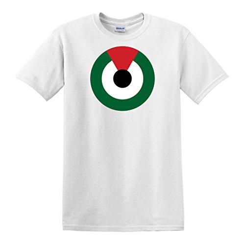 fagraphix Men's United Arab Emirates Air Force Roundel T-Shirt Medium White