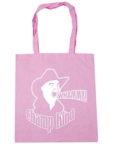 HippoWarehouse Whammy. Bolsa de la compra bolsa de playa 42cm x38cm, 10litros Classic Pink