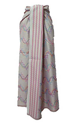 Thai Myanmar Synthetic Silk Fabric Mandalay MT30 for women Skirt Dress MF29 (Skirt Mandalay)