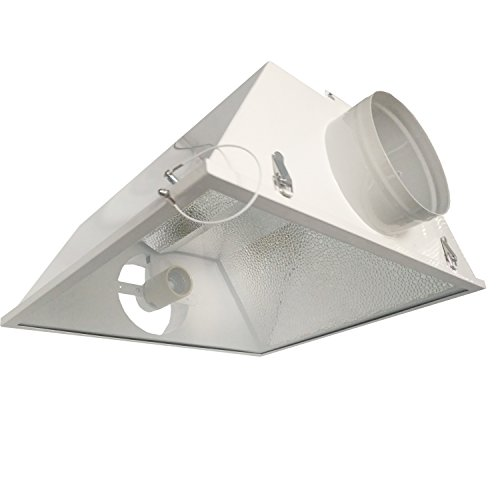 Hydro Crunch Large Air Cooled Grow Light Reflector with 6