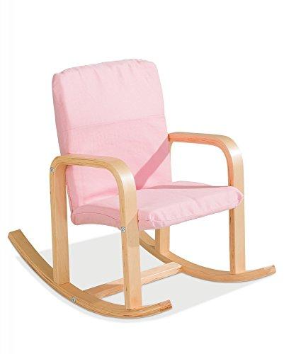 Kinder-Schaukelstuhl Kindersessel pink Bernie 1