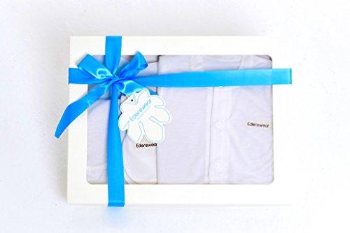 Taiwan Present Edenswear Hypoallergenic 5-Piece Layette Gift Set (3-6M) - White