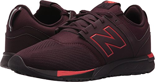 New Balance Men's MRL247BP, Chocolate Cherry With Red, 10.5 D - Hut Cherry