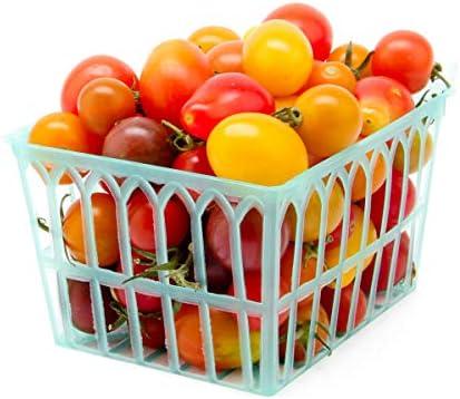 Tomato Grape Mix Organic, 1 Basket