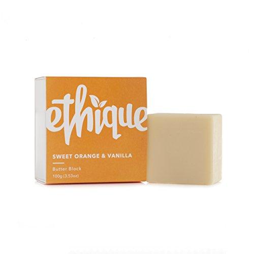 Ethique Eco-Friendly Butter Block, Sweet Orange & Vanilla 3.53 oz