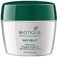 Biotique Bio Fruit Whitening & Depigmentation Face Pack, (235g)