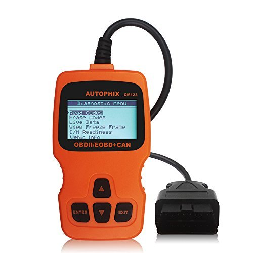 AUTOPHIX OBDMATE OM123 CAN OBD2 EOBD Engine Code Reader Hand-held Tester Scanner Multi-Language Auto Car Diagnostic Scan Tool (Orange)