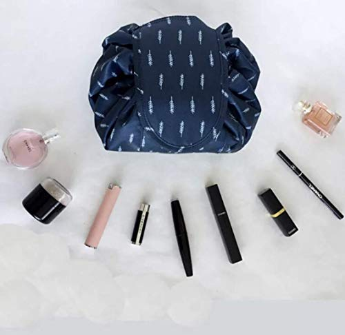 AAFGXSP Drawstring Makeup Bag Lazy Cosmetic Bag Large Travel Makeup Pouch Storage Organiser for Women Girl