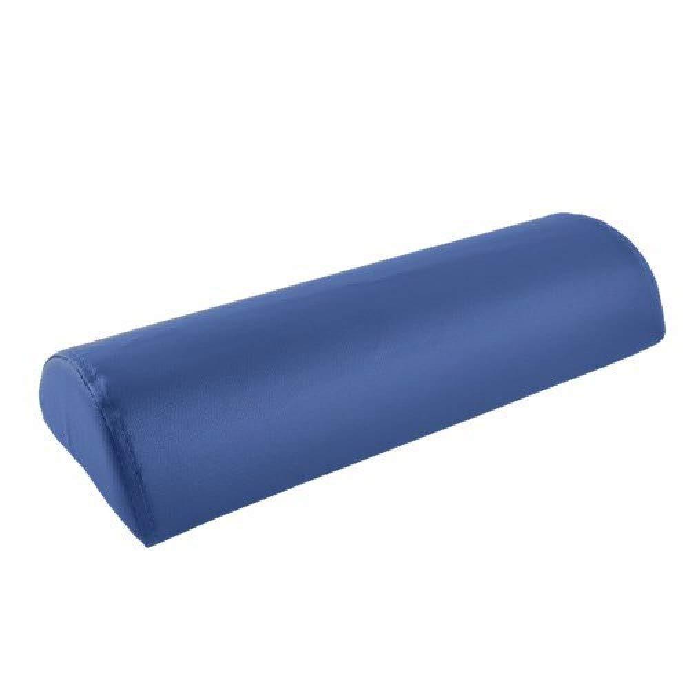 Teqler T-125804BL Cuña semi-cilíndrica de posicionamiento, 40 x 22 x 11 cm, azul