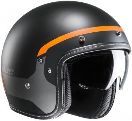 Gr/ö/ße XS HJC Motorradhelm FG-70s Modik MC7SF Schwarz//Orange